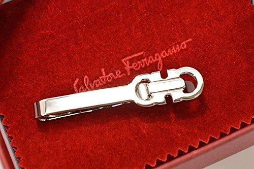 (サルバトーレフェラガモ)Salvatore Ferragamo タイクリップ efg16w012(544540-001:シルバー)メンズ