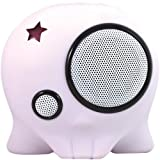 Boombotix Boombot1 Portable Weatherproof Speaker (DIY White)