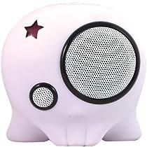 Boombotix Boombot1 Portable Weatherproof Speaker (DIY White)