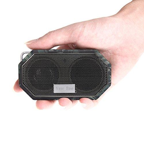 portable bluetooth speakers hakey wireless outdoor shower ip66 waterproof crs 4 0 bluetooth. Black Bedroom Furniture Sets. Home Design Ideas