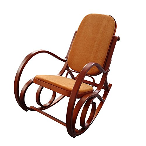MYHOME FURNITURE Antique Relax Lounge Chair Meeting Chair Home Office Furniture (Antique Rocking Chair)
