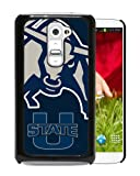 img - for LG G2 Case,Ncaa Pacific 12 Conference Pac 12 Football Ncaa Mountain West Conference Mwc Utah State Aggies 6 LG G2 Screen Shell Case,Fashion Cover book / textbook / text book