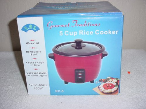 Kitchen Gourmet Rice Cooker front-611936
