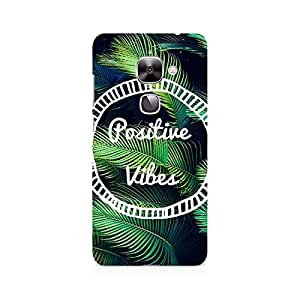 Ebby Positive Vibes Premium Printed Case For LeEco Le 2