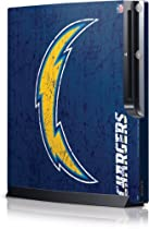 NFL - San Diego Chargers - San Diego Chargers Distressed - Sony Playstation 3 / PS3 Slim (4th Gen)(160/250GB) - Skinit Skin