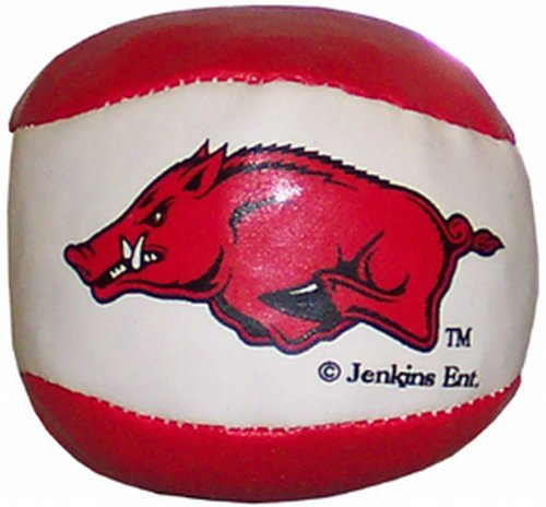 "NCAA Arkansas Razorbacks Hacky Sack Ball ""Running Hog"""