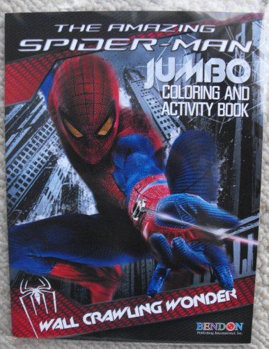 The Amazing Spiderman 64Pg Coloring And Activity Book. Heat Sealed In Copyrighted Labeled Sleeve.