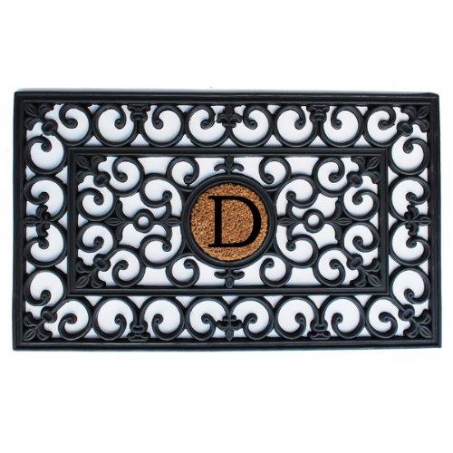 Home & More 150011830D Rubber Doormat, 18
