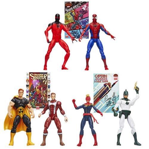 Case Of 8 - Marvel Legends 3 3/4-Inch Comic Packs Action Figures Wave 2