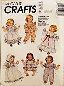 "OOP McCall's Pattern 4907. Clothes for 12-14"", 16-18"", & 20-22"" Baby Doll"