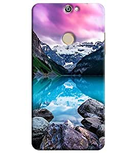 Blue Throat Printed Designer Back Cover For Coolpad Max