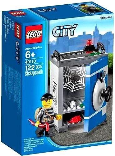 Lego City Coin Bank Lego 6+ by LEGO