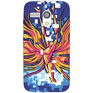 Moto G hunky Phone Cover - Matte Finish Phone Cover