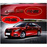 RS Word Mark Letter Emblem Logo for Chevy Cruze