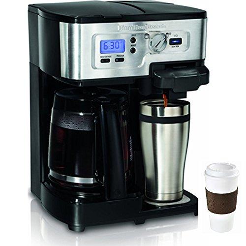 Hamilton Beach 2-Way FlexBrew 12-Cup Coffeemaker + Copco To Go Cup Bundle (Hamilton Coffee Maker 2 Way compare prices)