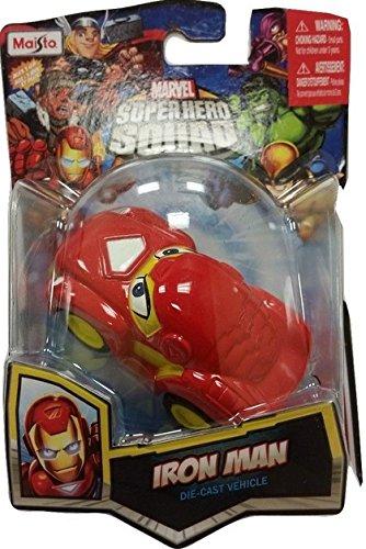 Iron Man Maisto Marvel Superhero Squad Die-Cast Vehicle Car Collection