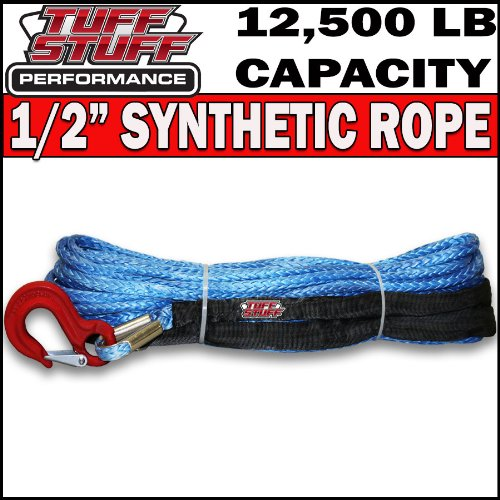 "Buy Bargain Tuff Stuff Performance 1/2"" Synthetic Winch Rope 92' Long"