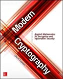 img - for Modern Cryptography: Applied Mathematics for Encryption and Information Security book / textbook / text book