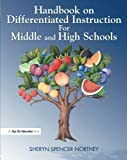 img - for Handbook on Differentiated Instruction for Middle & High Schools by Sheryn Spencer Northey (2004-12-22) book / textbook / text book