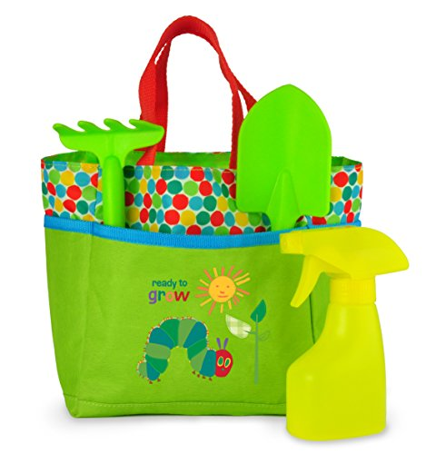World of Eric Carle, The Very Hungry Caterpillar Tote Bag with Accessories by Kids Preferred