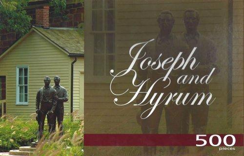"LDS Joseph & Hyrum 500 Piece Puzzle - 15"" x 30"" - 1"