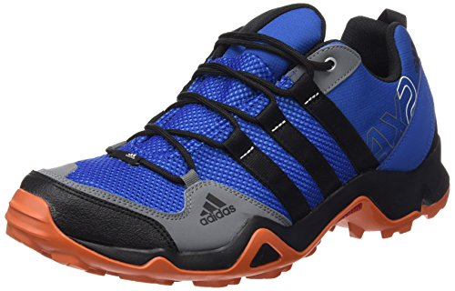 adidas OriginalsAX2 - Scarpe da trekking e da passeggiata Uomo , multicolore (Multicolore (Azul / Negro / Azul (Eqtazu / Negbas / Azuimp))), 45 1/3 EU
