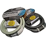 2014 Kryptonite USA Integrated Combination Cable Lock Sulpher White