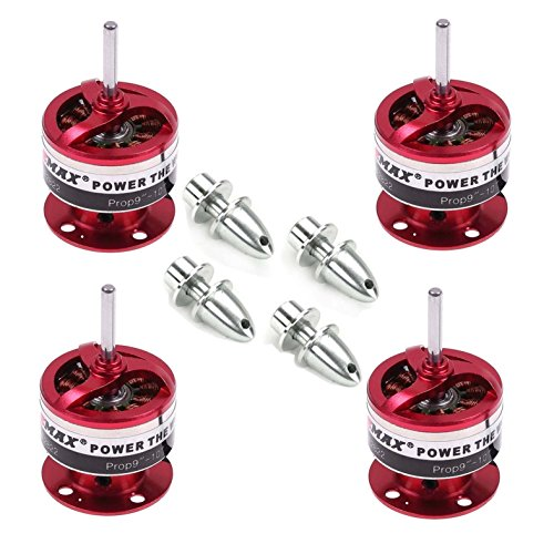 Emax Cf2822 1200kv Brushless Motor W/prop Adapter for Multicopter Quadcopter(pack of 4pcs) (4 Brushless Motors Quadcopter compare prices)