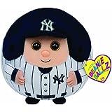 Ty Beanie Ballz MLB New York Yankees Plush