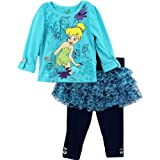 Disney Girls 2-6X Toddler 2 Piece Tinkerbell Skegging Set