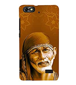 Om Sai Ram 3D Hard Polycarbonate Designer Back Case Cover for Huawei Honor 4C :: Huawei G Play Mini