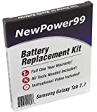 Battery Replacement Kit for Samsung GALAXY Tab 7.7