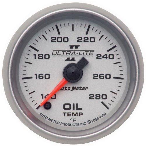 Auto Meter 4956 Ultra-Lite Ii Full Sweep Electric Oil Temperature Gauge