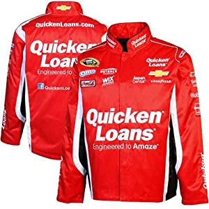 Chase Authentics Ryan Newman Official Twill Full Button Jacket - Red by Chase Authentics