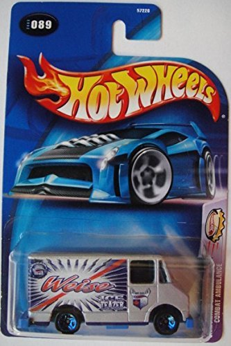 HOT WHEELS CARBONATED CRUISERS COMBAT AMBULANCE #089