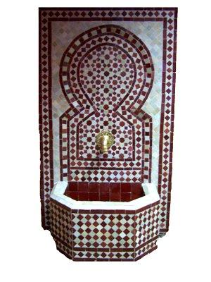 maurischer Gartenbrunnen Alhambra Bordaux, 110cm kaufen