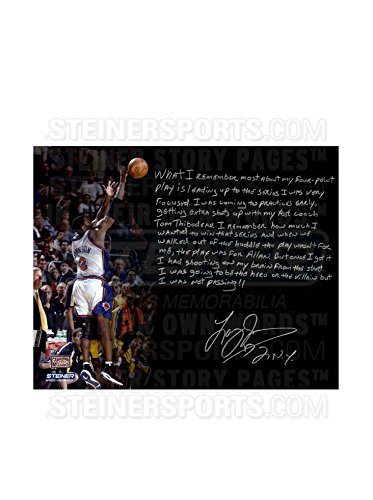 Steiner Sports Memorabilia Larry Johnson Signed 4-Point Play Story Photo, Multi, 16
