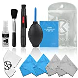CamKix Professional Camera Cleaning Kit for DSLR and GoPro Cameras- Canon - Nikon - Pentax - Sony - Cleaning Tools and Accessories
