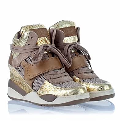 Womens Ash Funky Antique Gold Chamois - 35