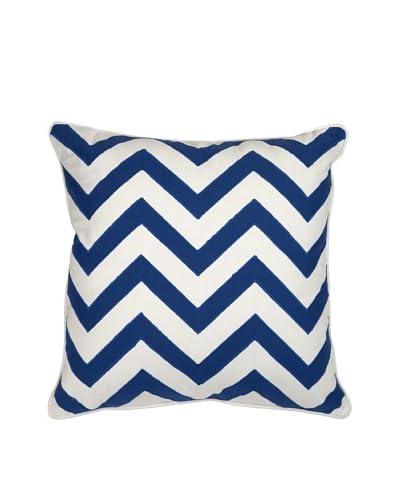 Essentials Cotton Pillow, Marine Blue