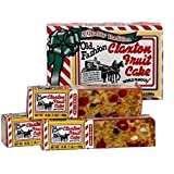 FRUIT CAKE Boxed 3-1lb Regular Recipe Claxton Fruitcake