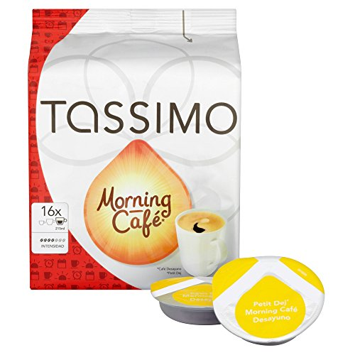 Buy Tassimo Morning Cafe 125 g (Pack of 5) - Mondelez