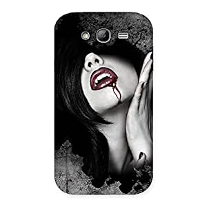 Special Wonder Lips Red Back Case Cover for Galaxy Grand