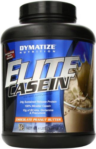 Dymatize Nutrition Elite Shake, Casein Chocolate Peanut Butter, 4 Pound