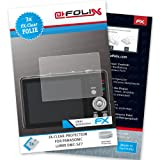 AtFoliX FX-Clear screen-protector for Panasonic Lumix DMC-SZ7 (3 pack) - Crystal-clear screen protection!