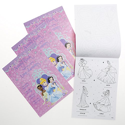 Disney Princess Activity Books