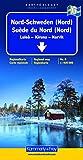 Kümmerly & Frey Karten, Nord-Schweden (Nord) (Regional Maps - Sweden)