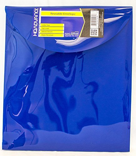 HQ Advance Products Reusable Poly Envelope with Velcro Closure, Extra Large Letter, Top Load (24181) (Poly Envelope Top Load compare prices)