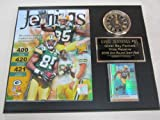 Greg Jennings Green Bay Packers Collectors Clock Plaque w/8x10 Photo and Card at Amazon.com
