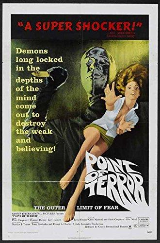 point of terror poster movie 11x17 peter carpenter dyanne